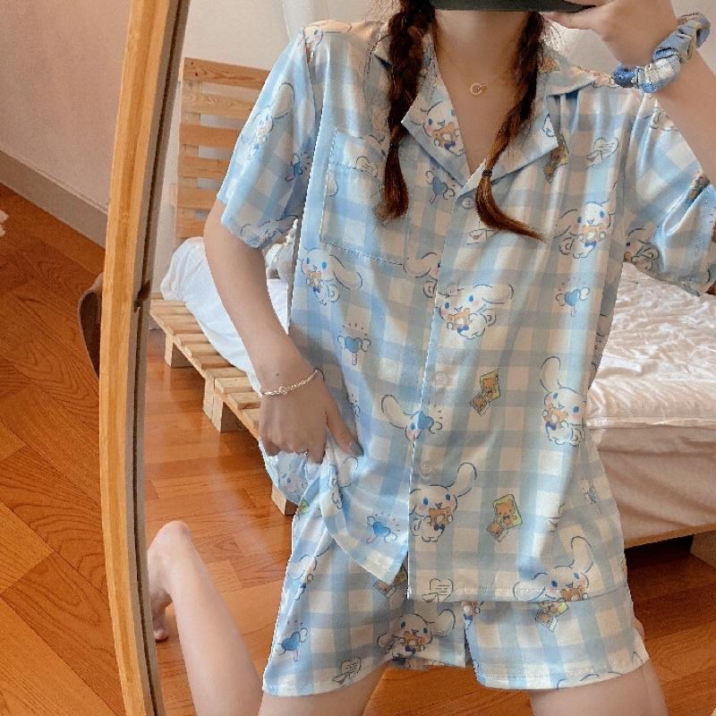 Set đồ ngủ pyjama hoạ tiết cinnamoroll