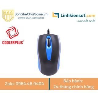 Chuột game CoolerPlus X5 Plus LED RGB thumbnail