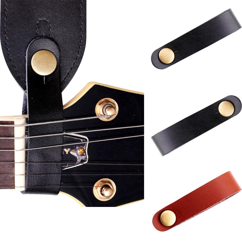 Guitar Strap Buckle Practical Instrument Straps For Ukulele Bass Tie Headstock