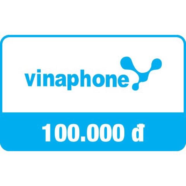 Mã thẻ/Nạp tiền Vinaphone 100k