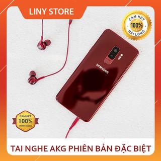 Tai Nghe AKG Samsung Galaxy S9 Màu Đỏ - Bóc Máy Chuẩn Zin