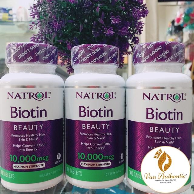 Viên uống mọc tóc Biotin -Mỹ