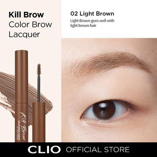 Chuốt mày CLIO Kill Brow Color Brow Lacouer 02 Light Brown màu nâu sáng thumbnail