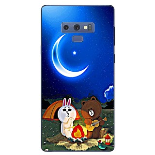 Ốp lưng dẻo Samsung Note 9 – Brown Cony Đàn