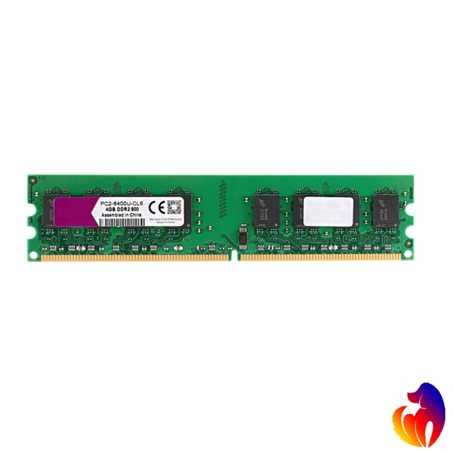 DDR2 4GB Ram 800MHz PC2-6400 Desktop PC DIMM Memory 240 pins for AMD System