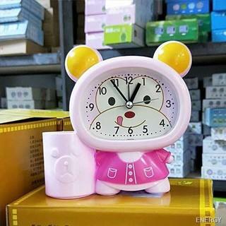 PVN21758 Đồng hồ báo thức hello kitty kèm ống cắm bút xinh xinh cho bé T2 thumbnail