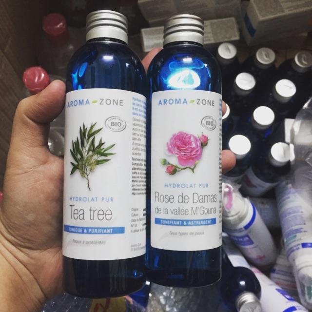 Toner aroma zone 200ml các loại