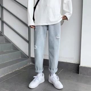 Quần jeans dài thiết kế thời trang cá tính cho nam size s-3xl
