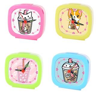 Đồng hồ để bàn boba tea màu sắc ĐHBI2 báo thức trà sữa thumbnail