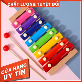 [TRỢ GIÁ] Đồ chơi đàn gỗ Xylophone 8 Quãng Cho Bé ( Loại Thường)