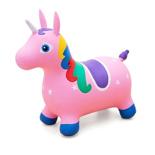 Inflatable Jumping Horse Toys Kids Toys Unicorn Hopper Toys Xmas Gifts
