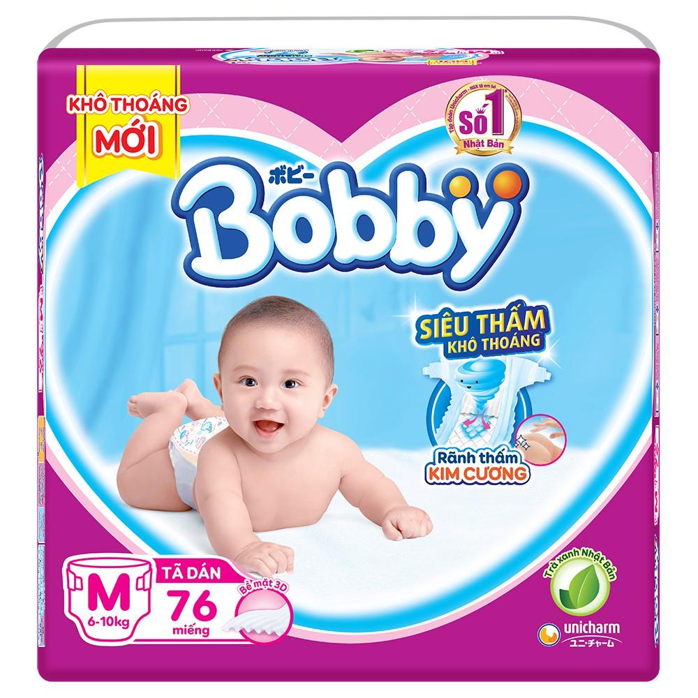 Tã Dán/tã quần Bobby M76/L68/XL62/XXL56M60/L54/Xl48/XXL44