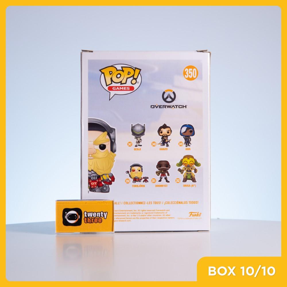 Mô hình đồ chơi Funko Pop • Torbjorn 350 • Overwatch (Best Buy Exclusive)