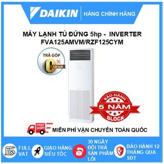 Máy Lạnh Tủ Đứng Đặt Sàn Daikin Inverter - R32 - Không Dây Một Chiều Lạnh Loại Sky Air FVA125AMVM/RZF125CYM+BRC4C66