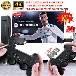 Máy chơi game cầm tay 4 nút HDMI 3500 Tặng thẻ 32GB trò chơi cổ điển PS1 Nitendo switch FC Compact FC bảo hành 24 tháng thumbnail