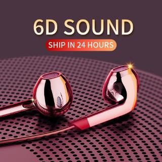 Tai nghe nhét tai âm thanh Hifi E6U đuôi cắm 3.5mm