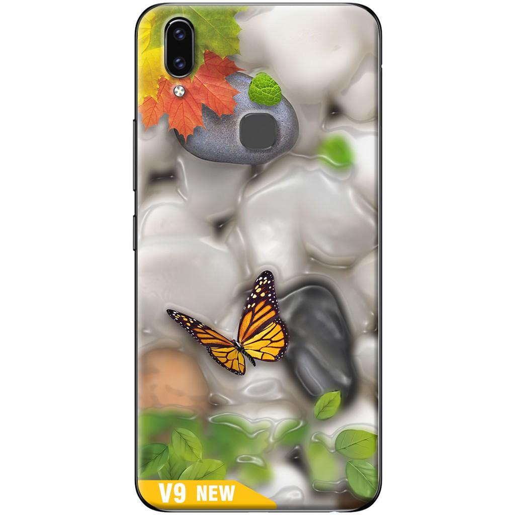 Ốp lưng nhựa dẻo Vivo V9 Thiên nhiên
