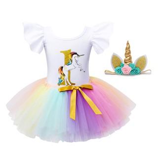Giáng sinh Quần áo bé gái mới công chúa váy công chúa nơ tutu với headband ba mảnh