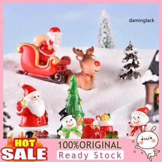 Mô Hình Ông Già Noel Mini Trang Trí Giáng Sinh