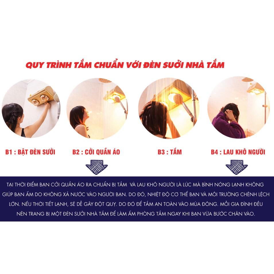 Đèn sưởi nhà tắm 2 bóng cao cấp bảo hành 1 năm - 2841372 , 492209163 , 322_492209163 , 450000 , Den-suoi-nha-tam-2-bong-cao-cap-bao-hanh-1-nam-322_492209163 , shopee.vn , Đèn sưởi nhà tắm 2 bóng cao cấp bảo hành 1 năm