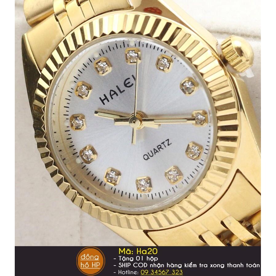 Đồng hồ nam HALEI chống nước dây thép chống gỉ