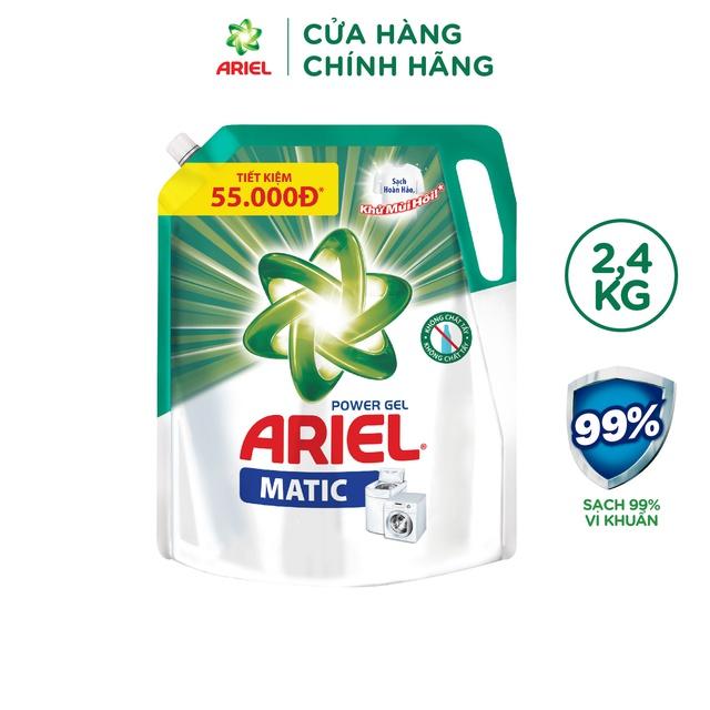 Ariel Matic nước giặt Túi 2.3Kg