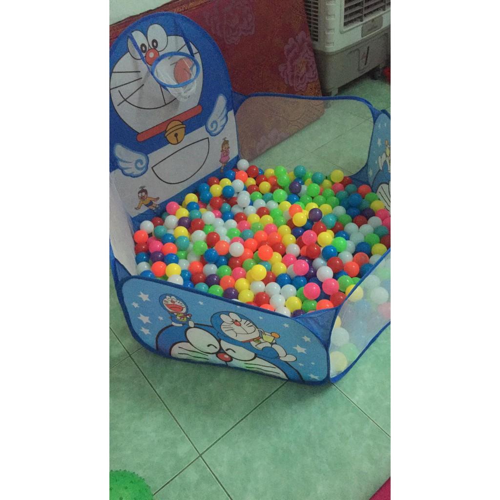 Nhà bóng cho bé  đôrêmon , kiity , hươu ( KHÔNG KÈM BÓNG NHÉ ) - Quây bóng cho bé - Lều bóng cho bé