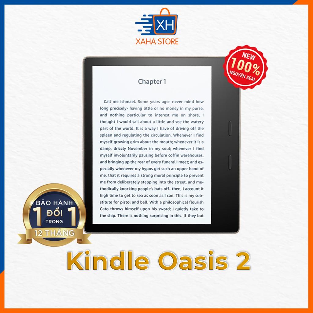Máy đọc sách Kindle Oasis 2 (thế hệ thứ 9) năm 2018 - 8GB/32GB