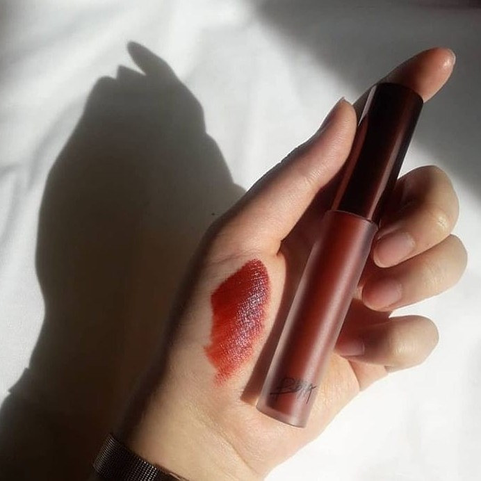 Son kem lì Bbia Last Velvet Lip Tint Màu 25 - Version 5 - Đỏ nâu - 2016 Skincare