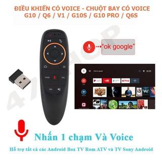 Điều khiển Chuột bay tìm kiếm giọng nói Air Mouse Remote Voice G10 / Q6 / V1