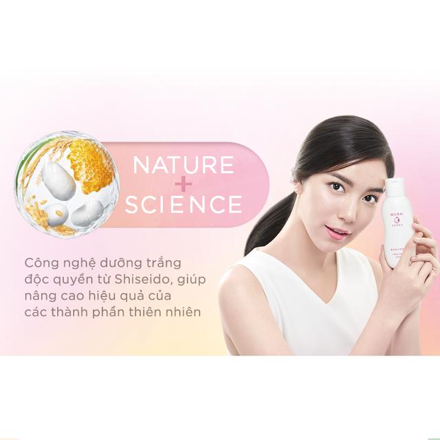 Nước dưỡng làm mềm và trắng da Senka White Beauty Lotion I 200ml_15378