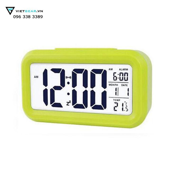 Đồng hồ để bàn điện tử CHH1019, có đo nhiệt độ, báo thức