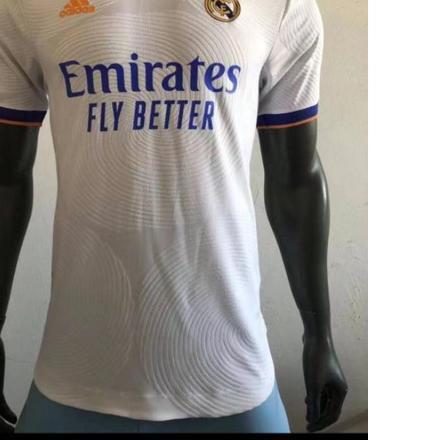 ♗ Áo thun Jersey Real Madrid Home 2021/2022 SMLXL 2XL 3XL