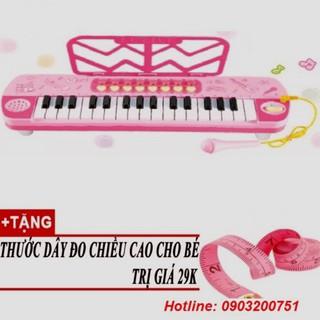 Đàn Organ có Mic cho bé phát triển khả năng âm nhạc Tặng thước Dây