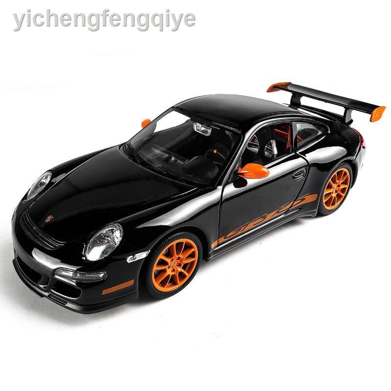 Mô Hình Xe Hơi Porsche 911 Gt 3 Bằng Hợp Kim Tỉ Lệ 1: 24