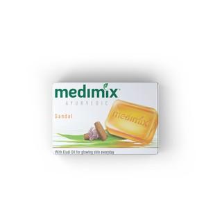 Combo Xà phòng Medimix 18 Loại Thảo Dược - Đàn Hương - Kumkumadi Nghệ Tây - Cỏ Hương Bài 125g bánh-1