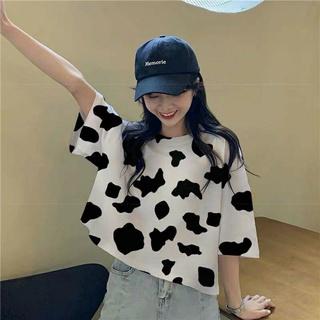 Áo Croptop Bò Sữa dáng rộng hottrend thumbnail