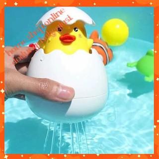 Đồ Chơi Quả Trứng Nỏ Ra CHÚ GÀ CON/ Đồ chơi nhà tắm cho bé FREE SHIP TOÀN QUỐC TỪ 150K