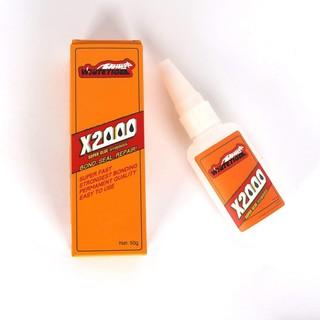 [Mua nhiều, giá ưu đãi] Keo dán X2000 đa năng dính cực chắc mọi bề mặt, dán thủy tinh, dán gỗ chống nước cực tốt