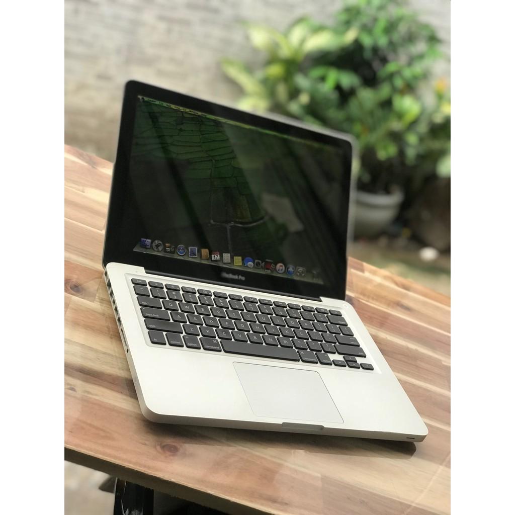 Macbook Pro 13,3in A1278, i5 8G 500G Đèn phím vỏ nhôm đẹp zin 100