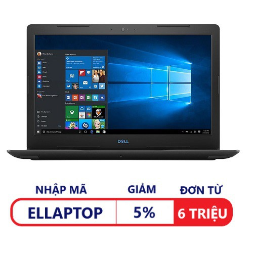 [Trả góp 0%] Laptop Dell G3 Inspiron 3579 (42IN35D003) ( i5-8300H, 15.6 Inches ) - Hãng phân phối chính thức