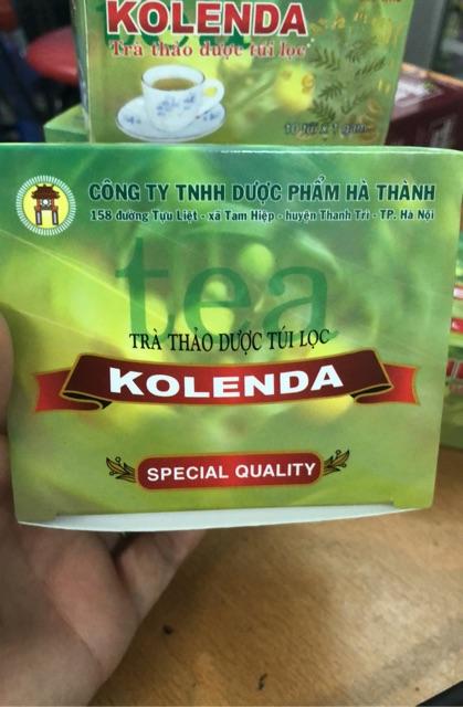 Trà túi lọc KOLENDA- Nhuận tràng, ăn uống không tiêu, đầy chướng