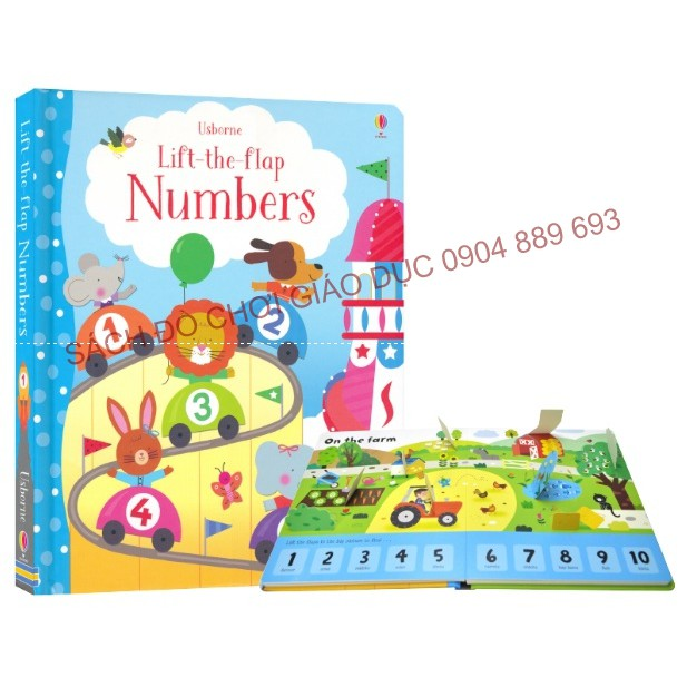 Number - Usborne lift the flap