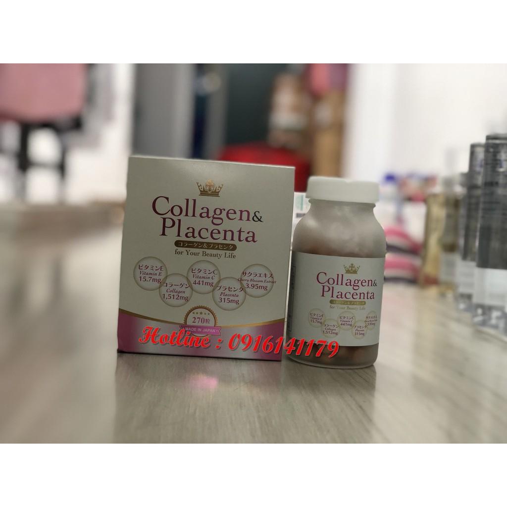 Viên uống Collagen & Placenta 5 trong 1 Nhật Bản (270v)