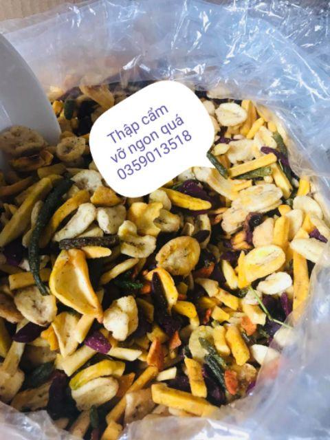500g trái cây sấy(hoa quả sấy) vụn