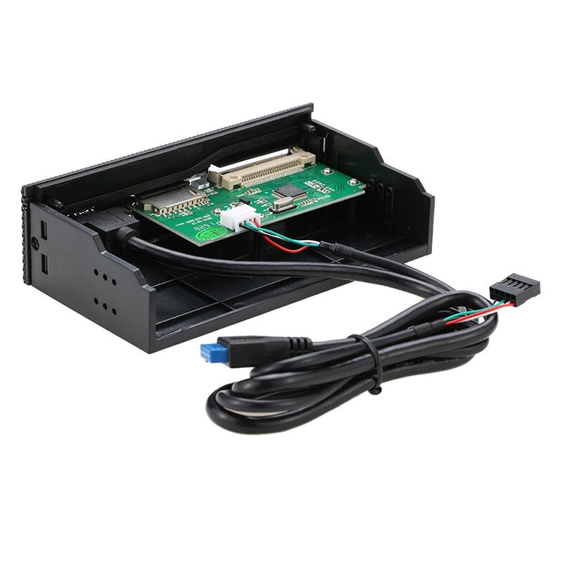 Đầu đọc thẻ cổng USB 3.0 đa năng cho thẻ CF SD SM XD tiện dụng