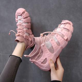 Giày Thể Thao Đế Bằng Thoáng Khí Thời Trang Mùa Hè 2020 Cho Nữ