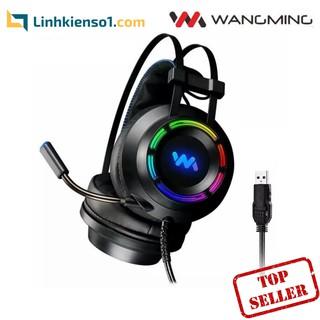 [Mã ELMAR10K giảm 10K đơn 20K] Tai nghe game thủ Wangming WM9800 giả lập 7.1 USB thumbnail