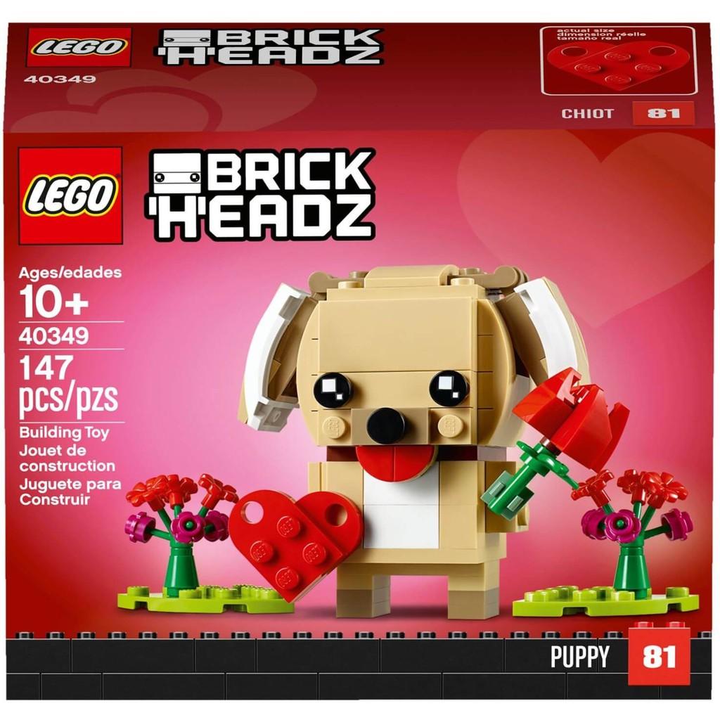 LEGO Brickheadz 40349 - Cún Con mùa Valentine (LEGO 40349 Valentine's Puppy)