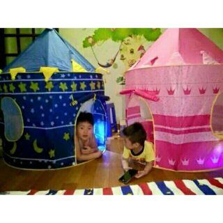 lều hoàng tử công chúa cho bé